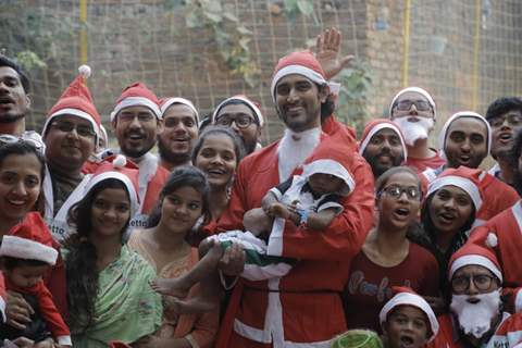 Kunal Kapoor snapped at Santa charity run