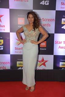 Neetu Chandra at Star Screen Awards 2018