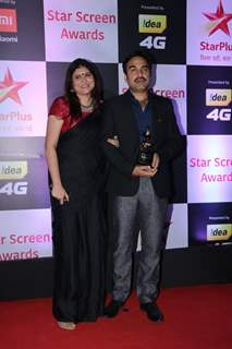 Pankaj Tripathi at Star Screen Awards 2018
