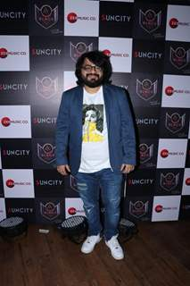 Pritam Chakraborty spotted at Hard Rock Cafe in Andheri