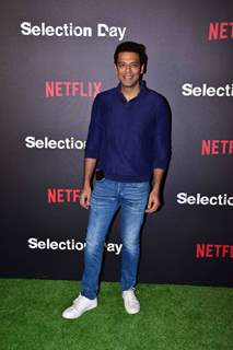 Samir Kochhar snapped at  Netflix's screening of Selection Day