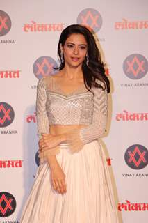Aamna Shariff at Lokmat Awards