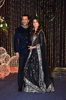 Abhishek Kapoor at Priyanka Chopra and Nick Jonas Wedding Reception, Mumbai
