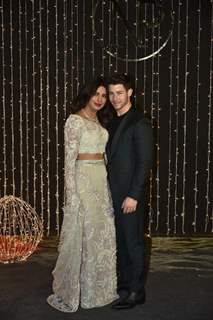 Priyanka Chopra and Nick Jonas at their Wedding Reception, Mumbai