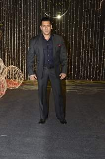 Salman Khan at Priyanka Chopra and Nick Jonas Wedding Reception, Mumbai