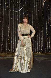 Ayesha Takia at Priyanka Chopra and Nick Jonas Wedding Reception, Mumbai