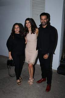 Rohit Roy and Aahana Kumra at Rangbaaz Screening