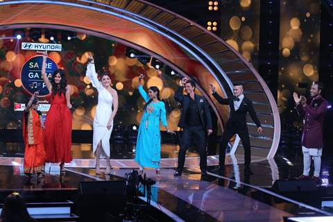 Shah Rukh, Katrina and Anushka at Saregama