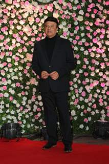 Anu Malik at Kapil Sharma and Ginni Chatrath's Live Reception, Mumbai