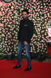 Shekhar Ravjiani at Kapil Sharma and Ginni Chatrath's Reception, Mumbai
