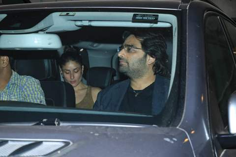 Kareena Kapoor at Saif Ali Khan House Christmas Party Pictures