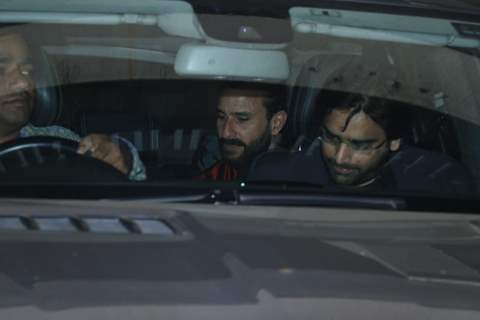 Saif Ali Khan at Saif Ali Khan House Christmas Party Pictures