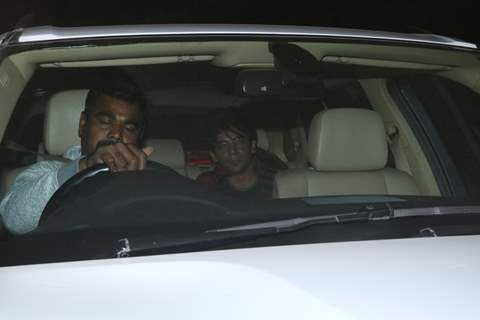 Sunil Grover at Salman Khan's birthday bash