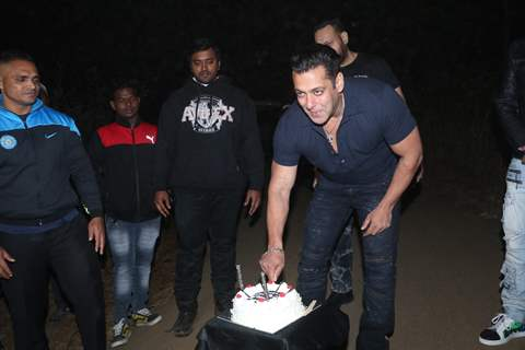 Salman Khan at his birthday bash