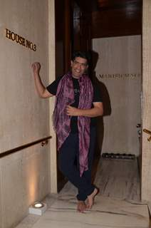Manish Malhotra at his house party