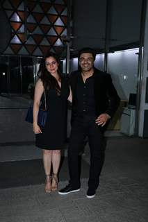 Samir Soni along with his wife attends Sanjay Kapoor's New Year Bash