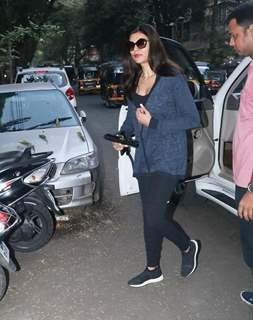 Sushmita Sen spotted around the town