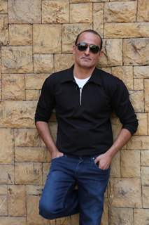 Akshaye Khanna at The Accidental Prime Minister Promotions