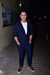 Mohit Raina snapped at URI screening