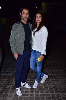 Abhishek Kapoor snapped at URI screening