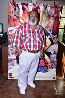 Saurabh Shukla at Fraud Saiyyan Promotions