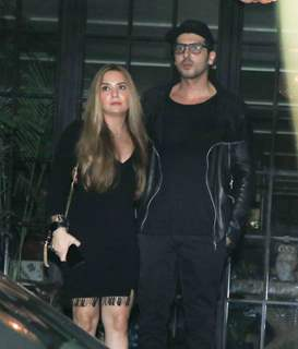Zayed Khan at Hrithik Roshan Birthday Bash