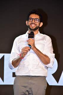 Aditya Thackeray snapped at 'Thackeray' Music Launch