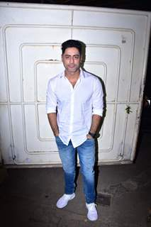 Mohit Raina snapped during the screening of 'URI'