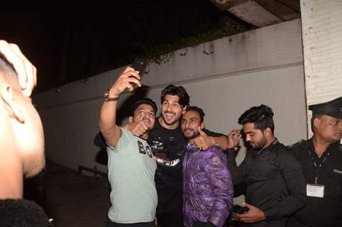 Sidharth Malhotra at his birthday bash