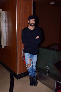 Prateik Babbar at 'Bombairiya' screening