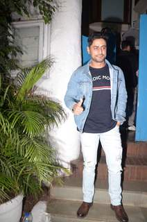 Mohit Raina celebrate URI's success