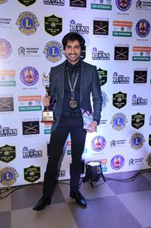 Harshad Chopda at Lions Gold Awards