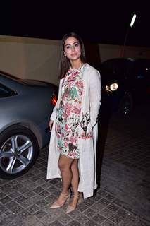 Hina Khan snapped at Rubaru Roshni screening