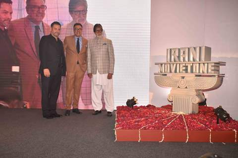 Amitabh Bachchan at the launch of Boman Irani's production house