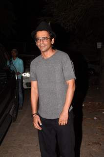 Sunil Grover spotted at Thackeray movie screening