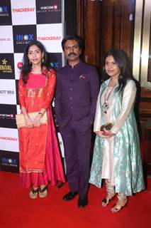 Nawazuddin Siddiqui spotted at Thackeray movie screening