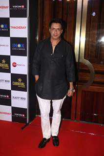 Madhur Bhandarkar spotted at Thackeray movie screening