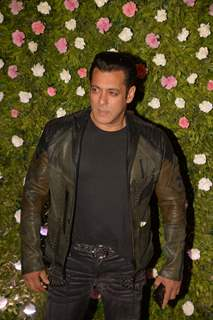 Salman Khan at Amit Thackeray's reception