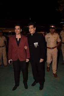 Jeetendra and son Tusshar Kapoor at Umang Event