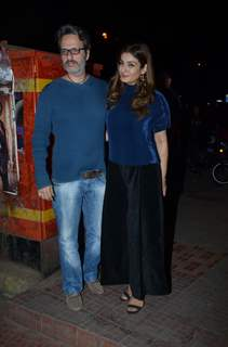 Raveena Tandon at Luka Chuppi wrap-up party