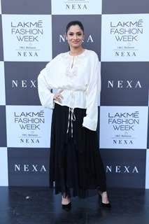 Ankita Lokhande at Lakme Fashion Week Day 1