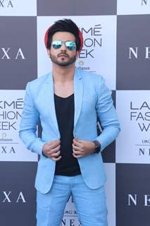 Dheeraj Dhoopar at Lakme Fashion Week Day 1