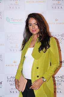 Sameera Reddy at Lakme Fashion Week Day 2