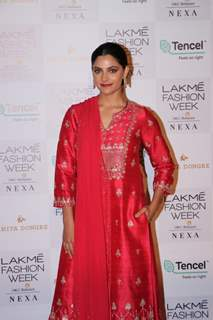 Saiyami Kher at Lakme Fashion Week Day 2