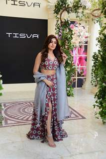 Kritika Kamra snapped at Lakme Fashion Week