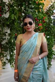 Pooja Gor snapped at Lakme Fashion Week