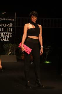 Mandira Bedi snapped at Lakme Fashion Week