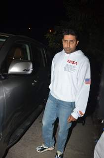 Abhishek Bachchan at his birthday bash