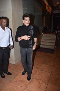 Jeetendra at Ekta Kapoor baby's naming ceremony