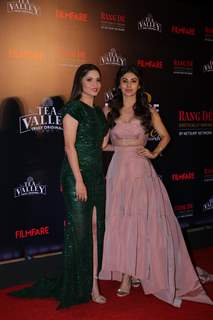 Ankita Lokhande and Mouni Roy attend Filmfare Awards